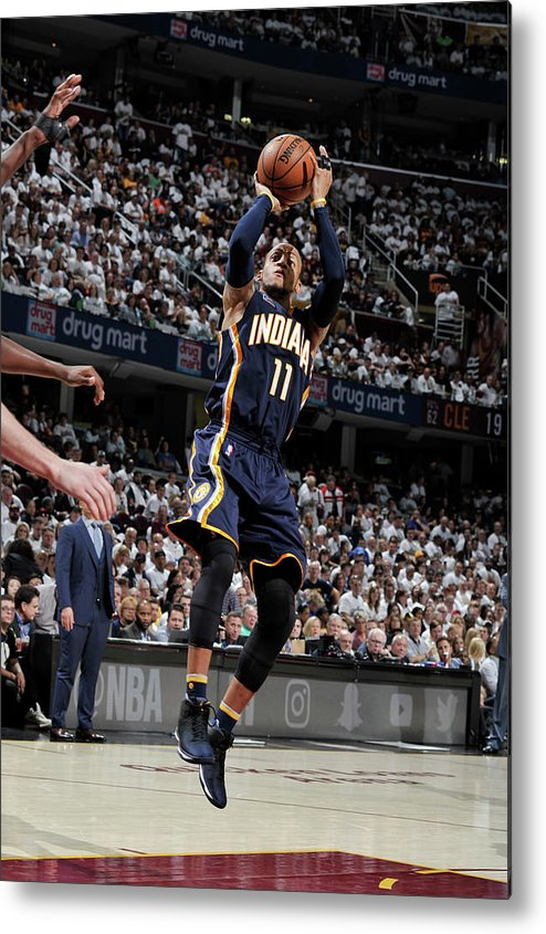 Playoffs Metal Print featuring the photograph Monta Ellis by David Liam Kyle