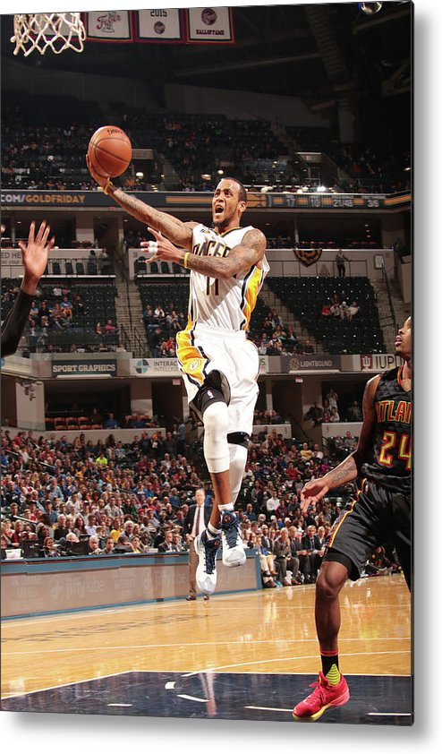 Nba Pro Basketball Metal Print featuring the photograph Monta Ellis by Ron Hoskins