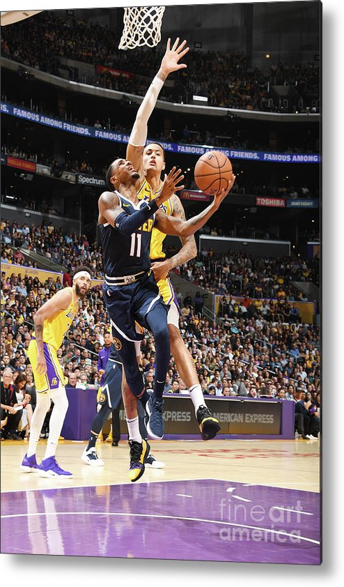 Nba Pro Basketball Metal Print featuring the photograph Monte Morris by Andrew D. Bernstein