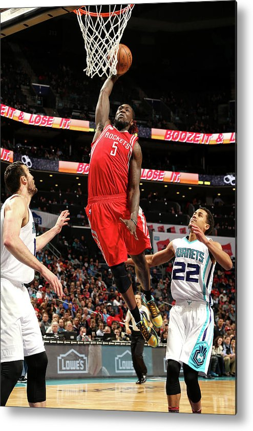 Nba Pro Basketball Metal Print featuring the photograph Montrezl Harrell by Kent Smith