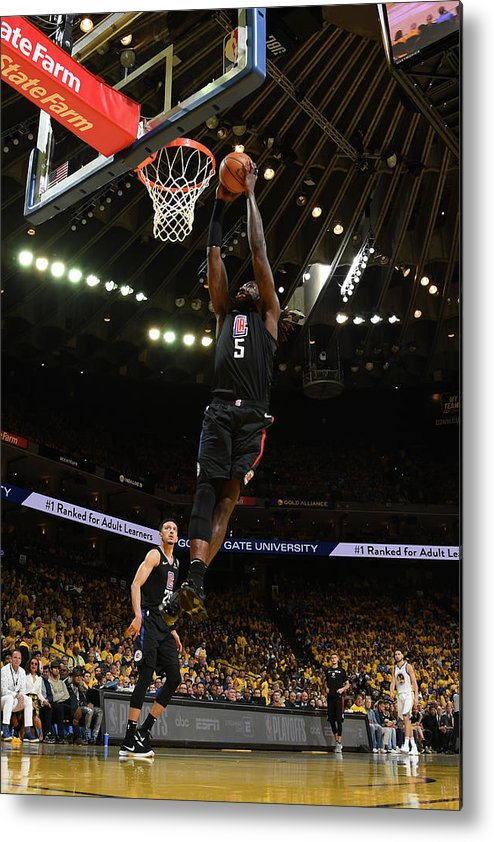 Playoffs Metal Print featuring the photograph Montrezl Harrell by Noah Graham