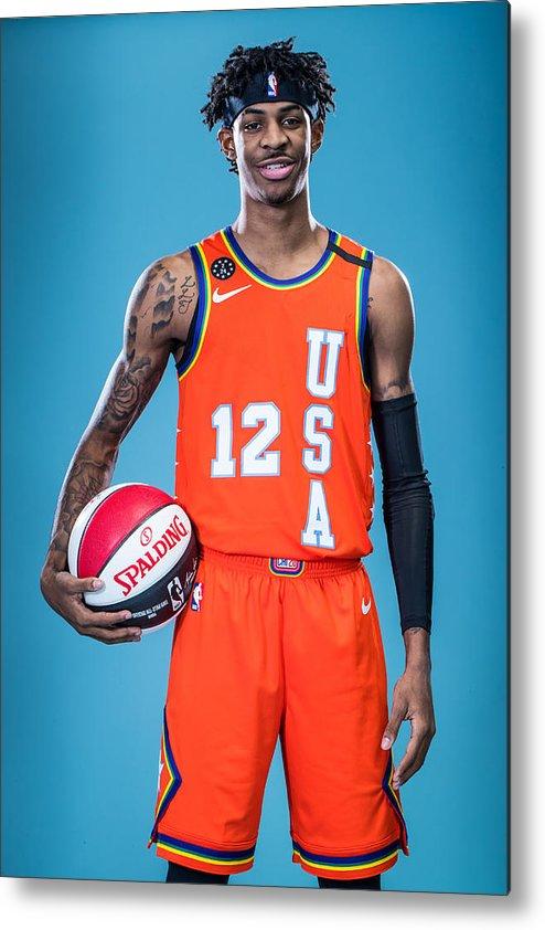 Nba Pro Basketball Metal Print featuring the photograph NBA Rising Stars Challenge by Michael J. LeBrecht II