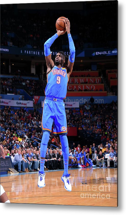 Nba Pro Basketball Metal Print featuring the photograph Nerlens Noel by Bill Baptist