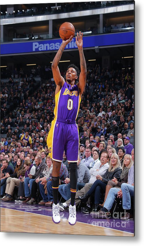 Nba Pro Basketball Metal Print featuring the photograph Nick Young by Rocky Widner
