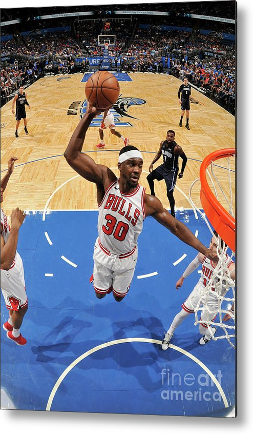 Nba Pro Basketball Metal Print featuring the photograph Noah Vonleh by Fernando Medina