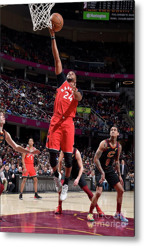 Nba Pro Basketball Metal Print featuring the photograph Norman Powell by David Liam Kyle