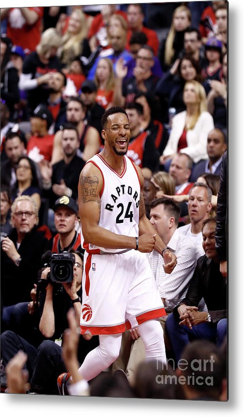 Playoffs Metal Print featuring the photograph Norman Powell by Mark Blinch