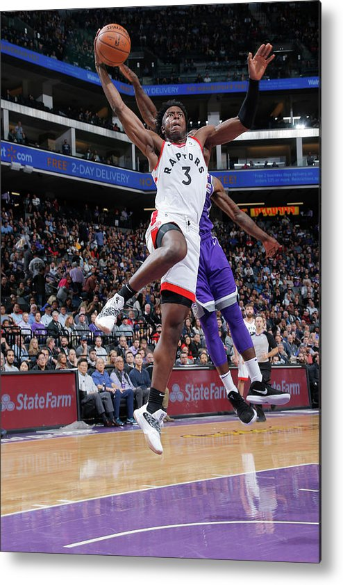 Nba Pro Basketball Metal Print featuring the photograph Og Anunoby by Rocky Widner