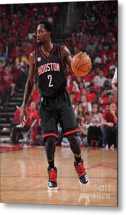 Playoffs Metal Print featuring the photograph Patrick Beverley by Bill Baptist