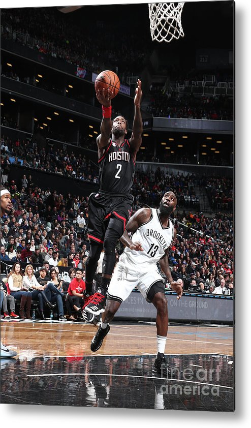 Nba Pro Basketball Metal Print featuring the photograph Patrick Beverley by Nathaniel S. Butler