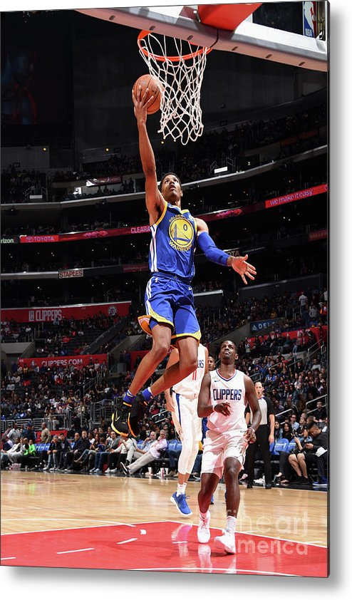 Nba Pro Basketball Metal Print featuring the photograph Patrick Mccaw by Andrew D. Bernstein
