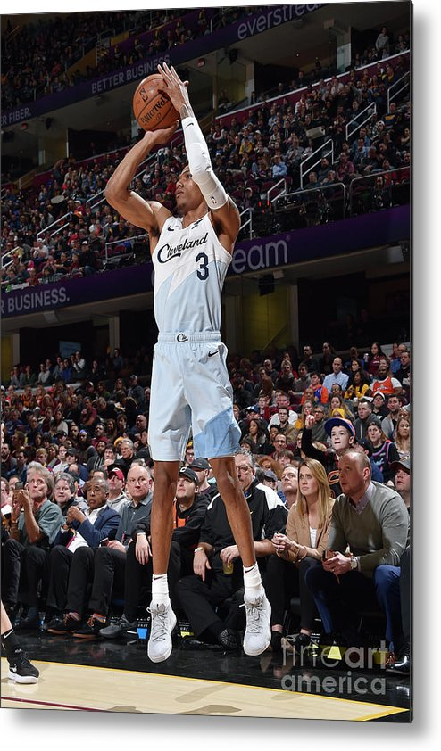 Nba Pro Basketball Metal Print featuring the photograph Patrick Mccaw by David Liam Kyle
