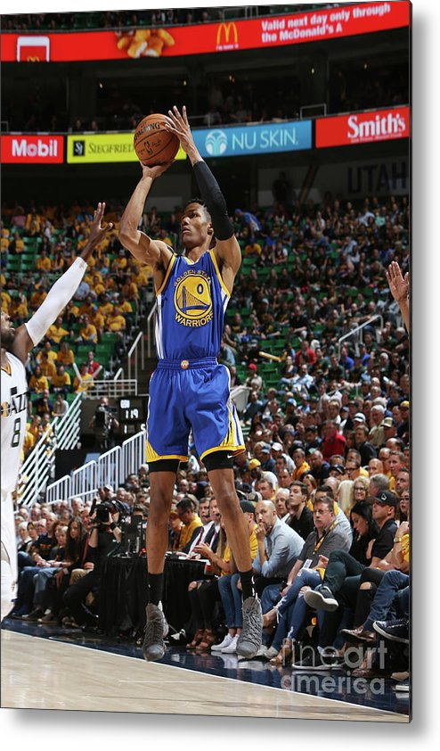 Playoffs Metal Print featuring the photograph Patrick Mccaw by Melissa Majchrzak