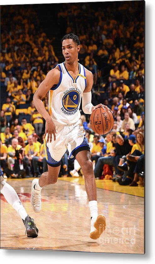 Playoffs Metal Print featuring the photograph Patrick Mccaw by Noah Graham