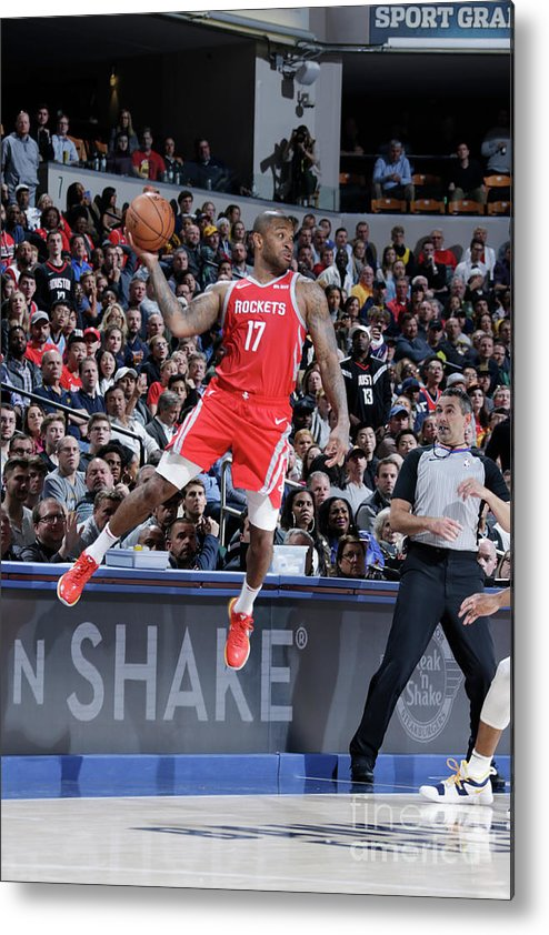 Nba Pro Basketball Metal Print featuring the photograph P.j. Tucker by Ron Hoskins