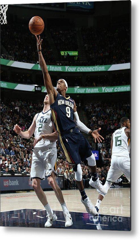 Nba Pro Basketball Metal Print featuring the photograph Rajon Rondo by Melissa Majchrzak