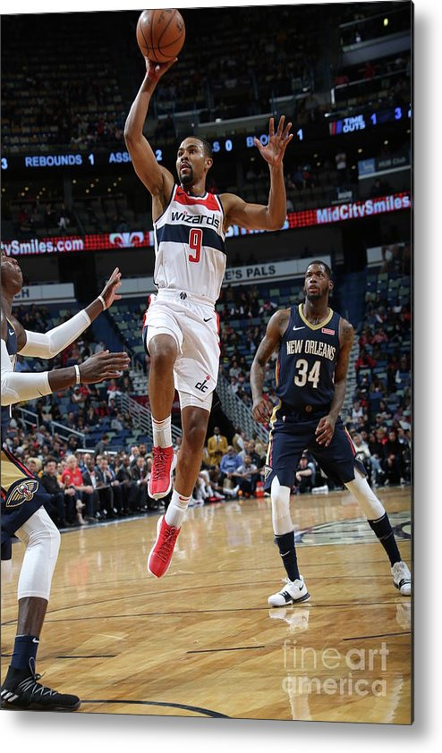 Smoothie King Center Metal Print featuring the photograph Ramon Sessions by Layne Murdoch Jr.