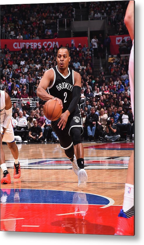 Nba Pro Basketball Metal Print featuring the photograph Randy Foye by Andrew D. Bernstein