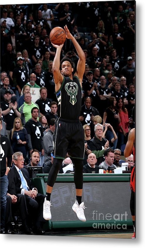 Playoffs Metal Print featuring the photograph Rashad Vaughn by Gary Dineen