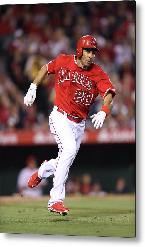 American League Baseball Metal Print featuring the photograph Raul Ibanez by Paul Spinelli