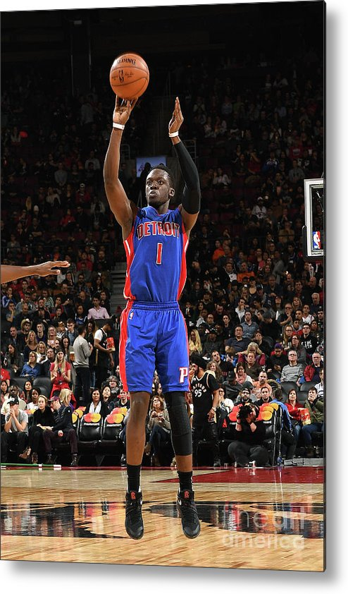 Nba Pro Basketball Metal Print featuring the photograph Reggie Jackson by Ron Turenne