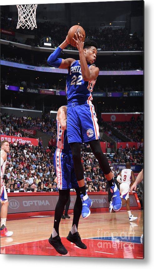 Nba Pro Basketball Metal Print featuring the photograph Richaun Holmes by Andrew D. Bernstein