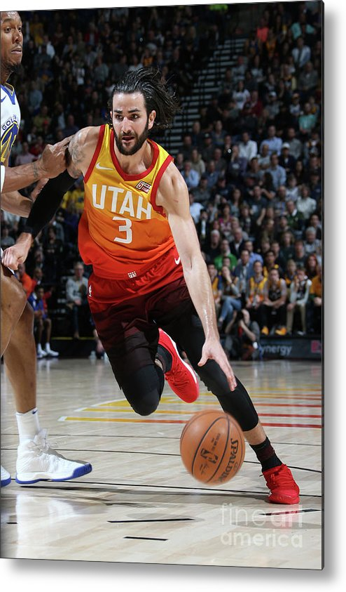 Nba Pro Basketball Metal Print featuring the photograph Ricky Rubio by Melissa Majchrzak