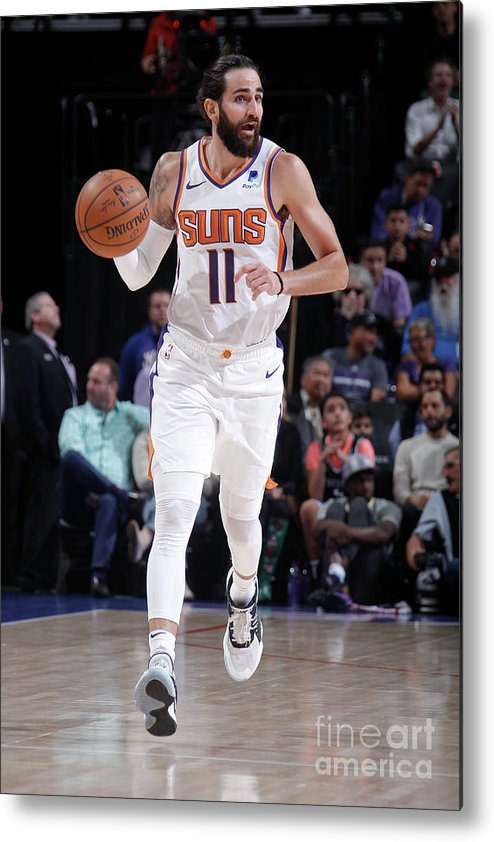 Nba Pro Basketball Metal Print featuring the photograph Ricky Rubio by Rocky Widner