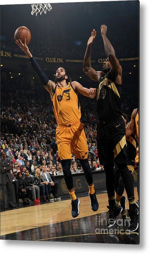 Nba Pro Basketball Metal Print featuring the photograph Ricky Rubio by Ron Turenne