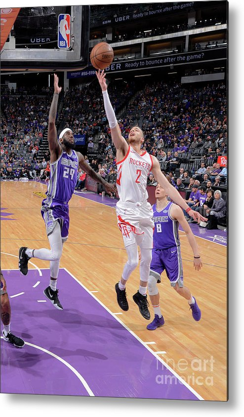 Nba Pro Basketball Metal Print featuring the photograph R.j. Hunter by Rocky Widner