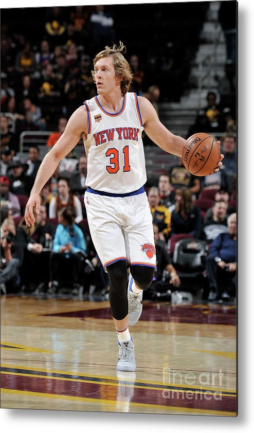 Nba Pro Basketball Metal Print featuring the photograph Ron Baker by David Liam Kyle