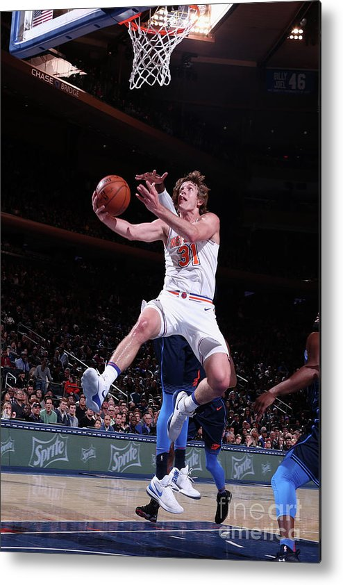 Nba Pro Basketball Metal Print featuring the photograph Ron Baker by Nathaniel S. Butler