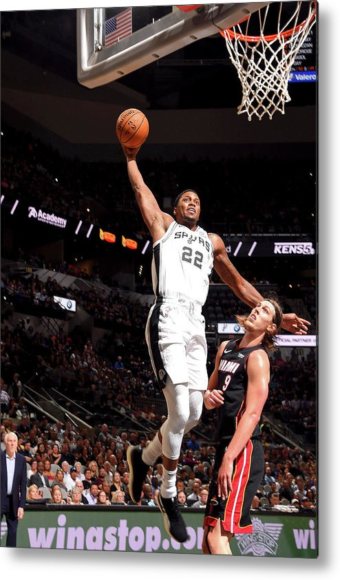 Nba Pro Basketball Metal Print featuring the photograph Rudy Gay by Bill Baptist