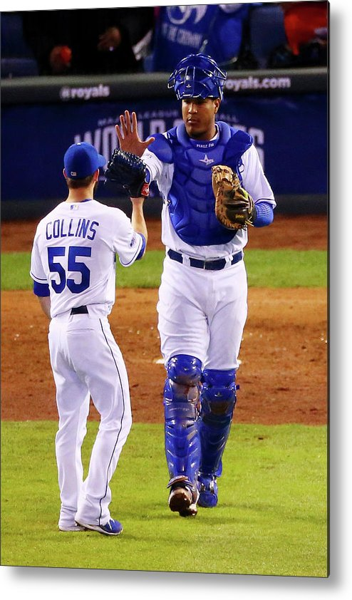 Salvador Perez Diaz Metal Print featuring the photograph Salvador Perez by Dilip Vishwanat