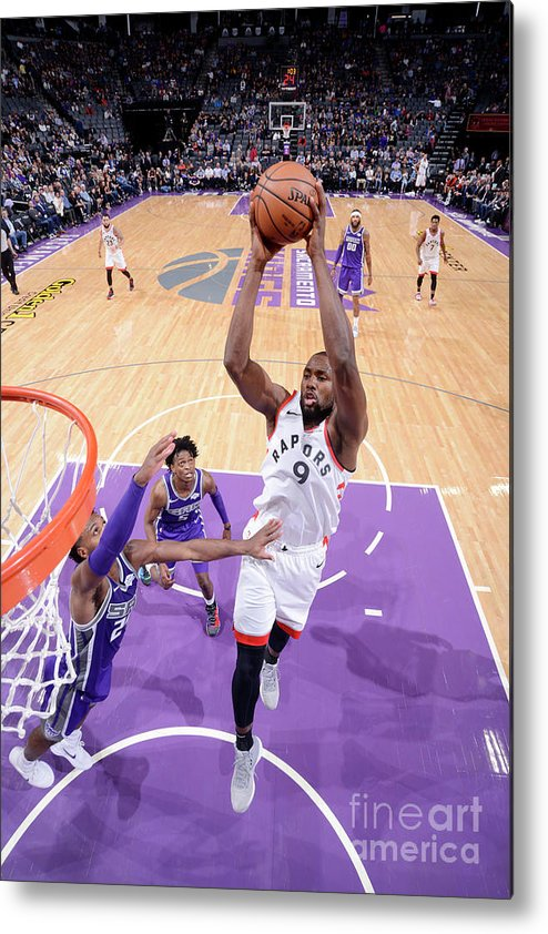 Nba Pro Basketball Metal Print featuring the photograph Serge Ibaka by Rocky Widner