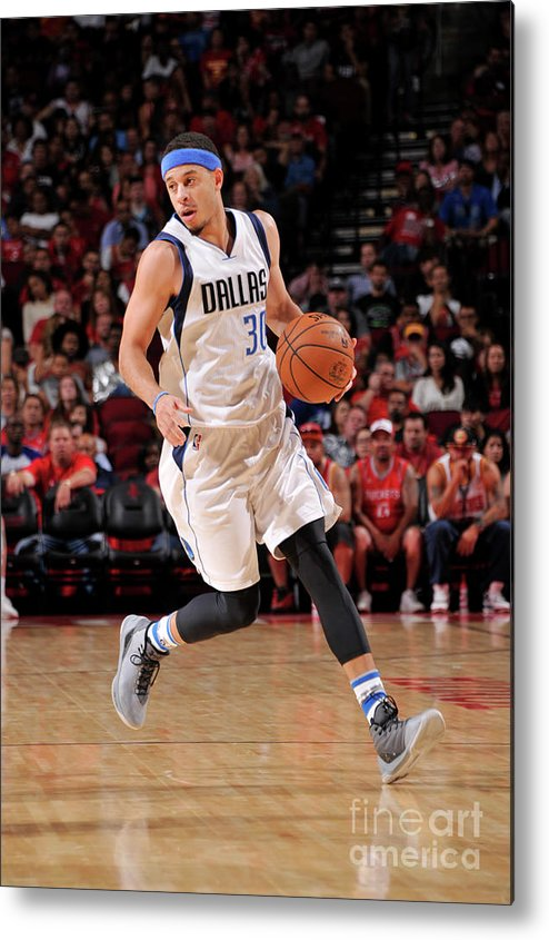 Nba Pro Basketball Metal Print featuring the photograph Seth Curry by Bill Baptist