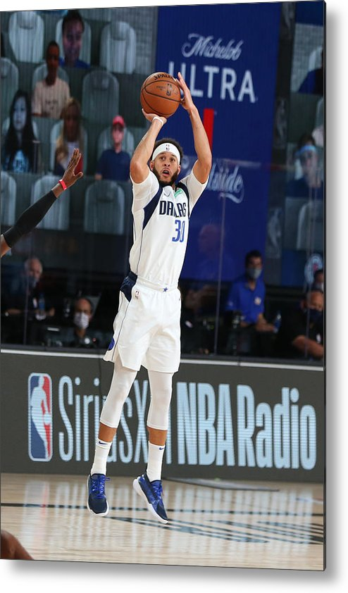 Playoffs Metal Print featuring the photograph Seth Curry by David Sherman
