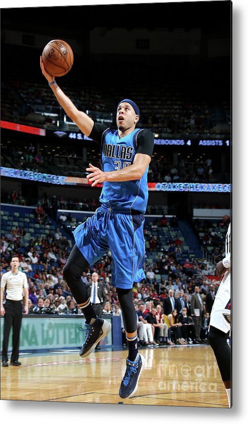 Smoothie King Center Metal Print featuring the photograph Seth Curry by Layne Murdoch Jr.