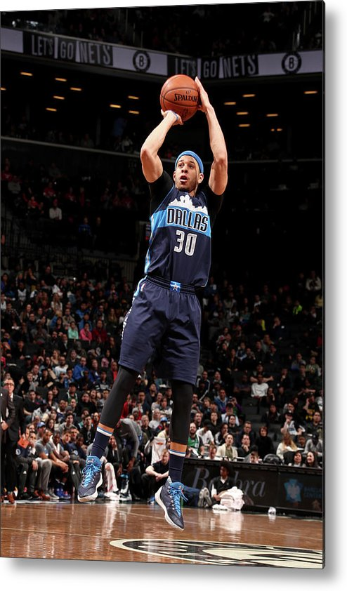 Nba Pro Basketball Metal Print featuring the photograph Seth Curry by Nathaniel S. Butler
