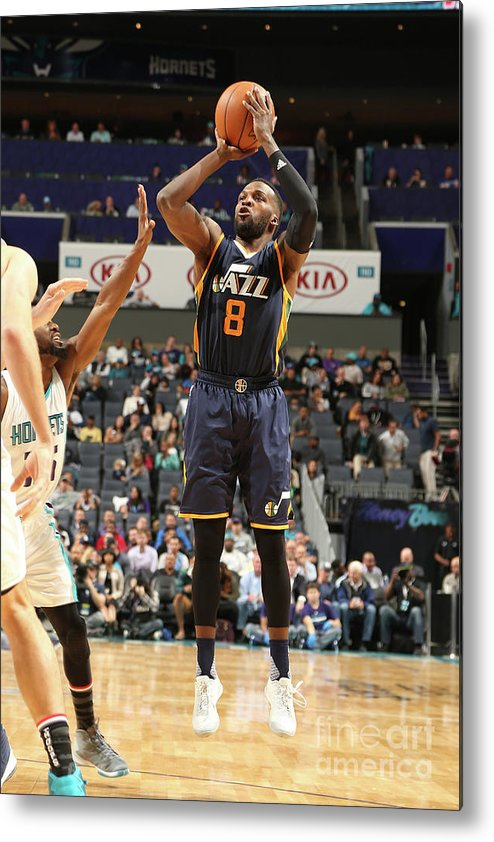 Nba Pro Basketball Metal Print featuring the photograph Shelvin Mack by Kent Smith