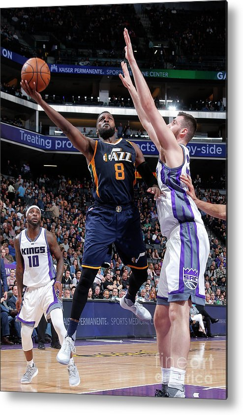 Nba Pro Basketball Metal Print featuring the photograph Shelvin Mack by Rocky Widner
