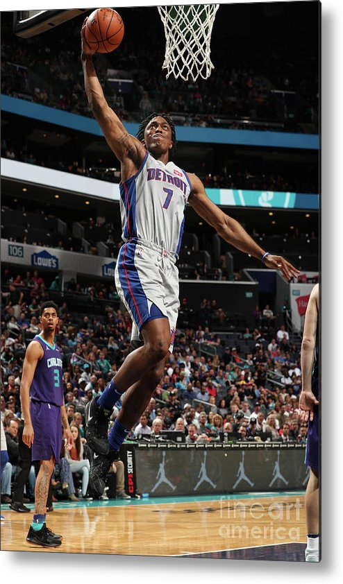 Nba Pro Basketball Metal Print featuring the photograph Stanley Johnson by Kent Smith
