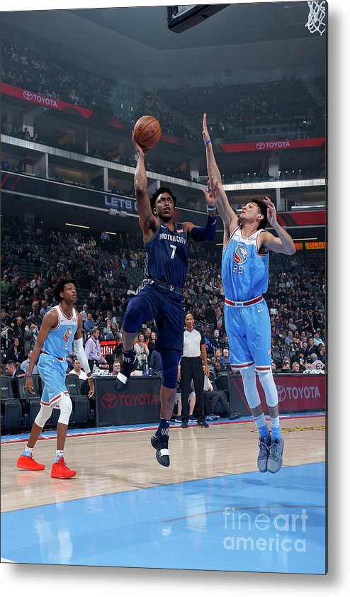 Nba Pro Basketball Metal Print featuring the photograph Stanley Johnson by Rocky Widner
