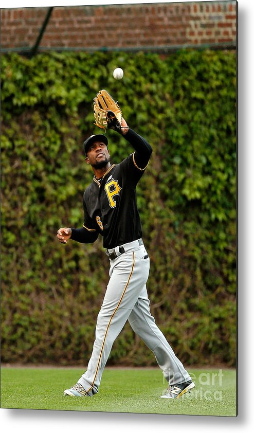 Second Inning Metal Print featuring the photograph Starling Marte by Jon Durr