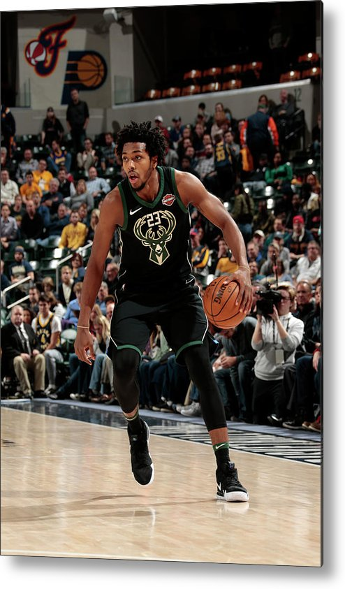 Nba Pro Basketball Metal Print featuring the photograph Sterling Brown by Ron Hoskins