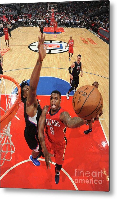 Nba Pro Basketball Metal Print featuring the photograph Terrence Jones by Adam Pantozzi