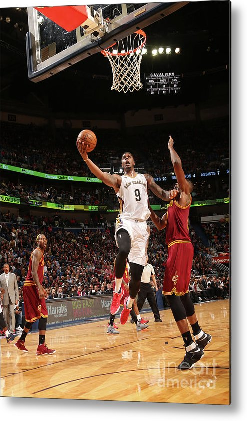 Smoothie King Center Metal Print featuring the photograph Terrence Jones by Layne Murdoch