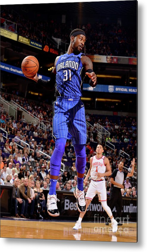 Nba Pro Basketball Metal Print featuring the photograph Terrence Ross by Barry Gossage