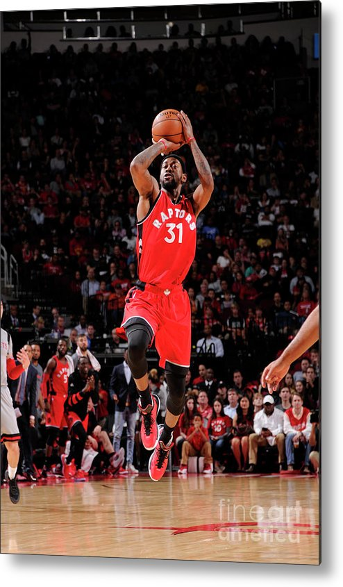 Nba Pro Basketball Metal Print featuring the photograph Terrence Ross by Bill Baptist