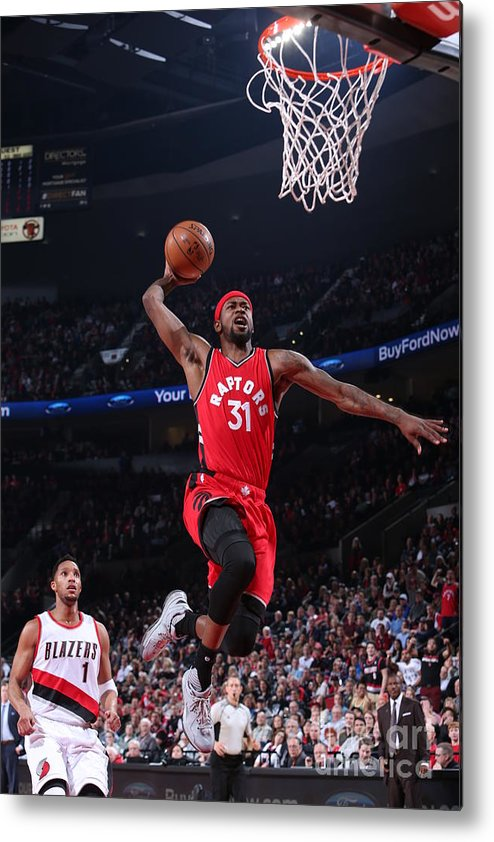 Nba Pro Basketball Metal Print featuring the photograph Terrence Ross by Sam Forencich